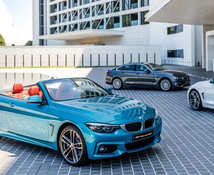 BMW 4 Series meets Hilton Busan