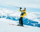 이탈리아의 스키 리조트 마돈나 디 캄필리오