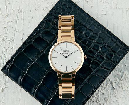 남자의 심상을 완벽히 대변하는 시계&지갑 조합!